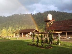 Rainbow on Pure Water Farm