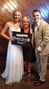 Wedding planner with a young happy couple - Smoky Mountain wedding packages all inclusive